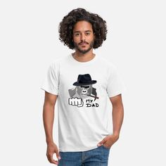 My Dad is a cool Gorilla Männer T-Shirt Cool Hats, Pullover, My Dad, Dads, T Shirts For Women, Cool Stuff, Gangsters, California, Design