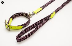collar and leash set from Hiro + Wolf