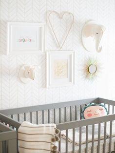 Sweet nursery in neutrals