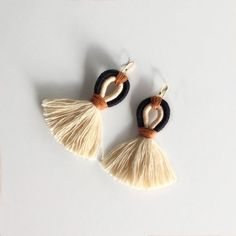 Macrame Colar, Macrame Earrings, Fringe Earrings, Tassel Earrings, Macrame Knots, Micro Macrame, Star Earrings, Boho Jewelry, Jewelery