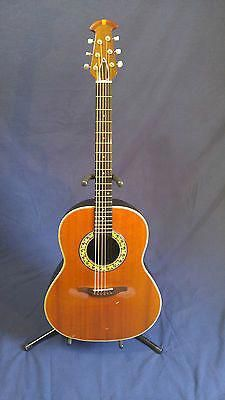 Vintage Ovation 6 String Acoustic Electric Guitar Model Musical Instruments & Gear Acoustic Electric Guitars 1617 Complete Range Of Articles