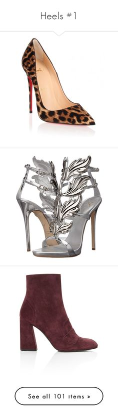 """""""Heels #1"""" by kelsiecloe on Polyvore featuring shoes, pumps, heels, christian louboutin, louboutin, brown, high heeled footwear, leopard pointed toe pumps, brown pumps and christian louboutin pumps Louboutin Pumps, Pumps Heels, Christian Louboutin, Brown Pumps, Pointed Toe Pumps, Kitten Heels, Footwear, Polyvore, Shoes"""