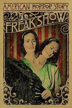 American Horror Story: Freak Show - poster - UncleGertrudes American Horror Story Freak, Arte Horror, Fan Art, Scary Movies, Coven, Horror Stories, Horror Films, Pop Culture, Poster Prints
