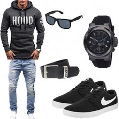 Moda Masculina Urbana 2019 Ideas For 2020 Swag Outfits Men, Stylish Mens Outfits, Mode Outfits, Urban Fashion, Kids Fashion, Mode Man, Herren Style, Herren Outfit, Men Style Tips