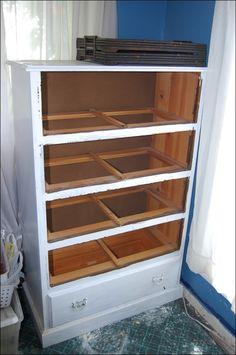 Dresser to bunny hutch!
