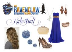 """""""Ravenclaw - Yule Ball"""" by lumos394 ❤ liked on Polyvore"""