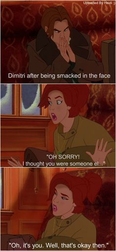 HAHAHA, gotta love Anastasia :p