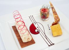 fine dining food style - Google Search