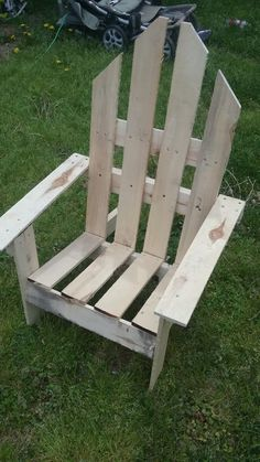 2-hour Easy Pallet Outdoor Chair