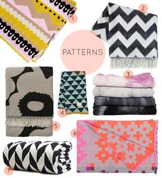 All my favorite blankets for cold winter months (60+ designs)