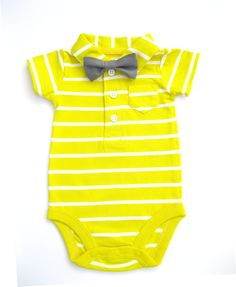 Baby boy Easter outfit. Bow tie collared onesie. Happy spring onesie. 1st birthday outfit. Newborn boy Easter gift.. $23.00, via Etsy.
