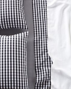 Serena & Lily Gingham Sheet Set: http://www.stylemepretty.com/living/2015/10/28/mad-about-plaid/