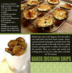 Zucchini Chips-looks yummy! Veggie Recipes, Low Carb Recipes, Real Food Recipes, Snack Recipes, Cooking Recipes, Yummy Food, Healthy Recipes, Easy Recipes, Vegetarian Recipes