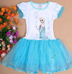 Full of color and fun, this Disney frozen inspired tutu is perfect for you little girl. Makes the perfect gift, and we all know how much she would love to have this top. These tops were made to truly sparkle, the tulle chosen to create these was chosen careful to make sure it was a soft tulle and...