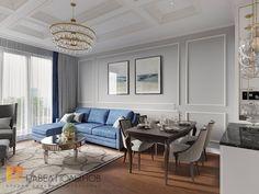 Фото интерьер гостиной из проекта «Интерьер трехкомнатной квартиры 96 кв.м. в ЖК «Привилегия», стиль нео-классика»