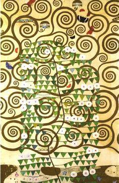 """Tree of Life"" painting by Gustav Klimt"