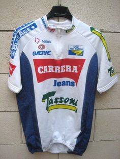 VINTAGE Maillot cycliste CARRERA Nalini Tour 93 cycling jersey 6