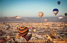 Balonismo na Capadócia (Turquia)