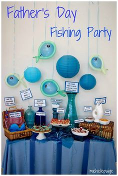 Father's Day Party Ideas: Fishing Party