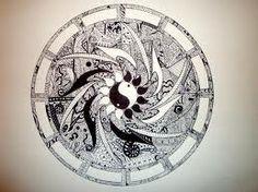 ying/yang zen tangle! love it!