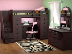 Berg Furniture | Great Room Ideas TONS of great loft beds!