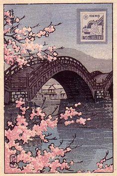 kawase hasui - Hasui-stamp-web-.jpg (395×594)