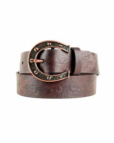 $22.95 Women's Charmed Belt with removable belt buckle. Nice!!! Think I'll order but don't know what size. Doesn't let you know what Inch a small, medium, large, or x-large is.. Makes ordering a tad difficult is only drawback..