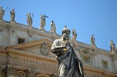 San pedro en el Vaticano.