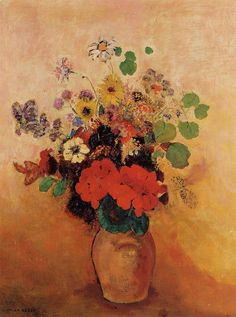 Vase of Flowers 6 | Odilon Redon | oil painting  - Prices starting at $139