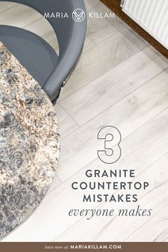 I see this mistake a lot in new kitchen designs. The minute your granite countertops are installed, something doesn't look right but you can't quite put your finger on it. It's the most common mistake when choosing granite. Find out what it is and how to avoid making this mistake in your kitchen. New Kitchen Designs, Kitchen Ideas, Off White Kitchens, Better Homes And Gardens, Granite Countertops, Kitchen And Bath, Home Renovation, House Colors, Mistakes