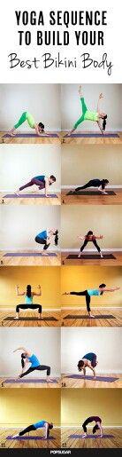 Yoga/bikini body