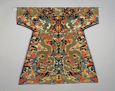 century chinese textiles - Velvet Textile for a Dragon Robe China - Qing dynasty Historical Costume, Historical Clothing, Female Clothing, Textiles, Chinese Embroidery, Chinese Design, Asian History, China Art, Chinese Clothing
