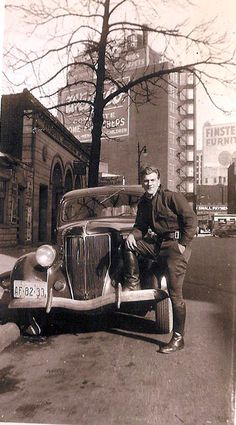 My dad early 1940's