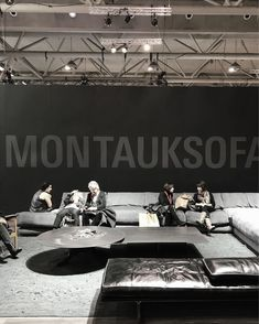 The bold and the beautiful at #idstoronto at #montauksofa #idsturns20