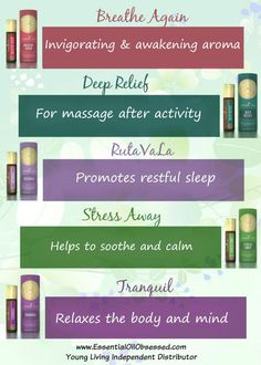 Roll-on blends from Young Living | Essential Oil Obsessed Member Number 3047578