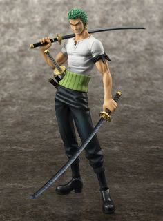 Roronoa Zoro 10th Limited Version (One Piece) Excellent Model P.O.P. NEO-DX PVC-Statue 1/8 24cm Megahouse