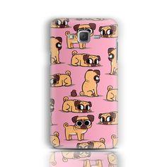 Pugs Samsung Galaxy J5 Case Samsung Galaxy S6 S5 S4 S3 J5 A3 A5 A7 Note 3 Note 4…