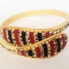 Celluloid Snake Bracelet  - Decogirl