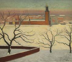 "peira: ""Einar Jolin: Stockholmsmotiv (1942) """