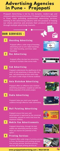 Prajapati advertising provides bus advertsing, cab advertising, radio advertising services in India.