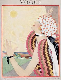 Vintage Style Photos: Vogue covers from 1920s