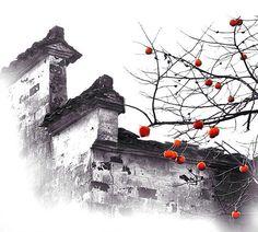 """青砖小瓦马头墙,回廊挂落花格窗。梦里水乡芳绿野, 玉谪伯虎慰苏杭"" Chinese Courtyard, Chinese Garden, Urban Landscape, Landscape Design, Ancient Chinese Architecture, Chinese Element, China Art, Chinese Culture, Chinese Painting"