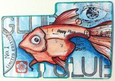Rolodex card by Melissa Fetalvero of ATC's For All. Click to view original