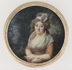 Lady dans un parc, 1790 Lié Louis Périn Salbreux