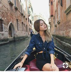 Image about girl in styl by Jong Exo-l on We Heart It Casual Fall Outfits, Cute Outfits, Summer Outfits, Lily Maymac, Couple Goals, Wild Girl, Pretty Asian, Denim Top, Fashion Pictures
