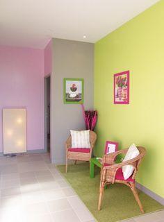 Idea For Multi Colored Walls Colorful Home Decor