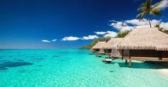 Polinésia Francesa #beach #praia #viagem #luademel #casamento