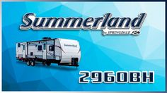 2017 Keystone Summerland 2960BH Travel Trailer Lakeshore RV Find out more at https://lakeshore-rv.com/keystone-rv/summerland/2017-summerland-2960bh-floor-plan/?pr=true call 231.788.2040 or stop in and see one today!  Summerland 2960BH The Summerland 2960BH creates memories theyll cherish forever!  Youll find plenty of exterior storage for all your gear between the front pass thru area and the rear garage!  When you come back from a fishing excursion just mount the included grill to the…