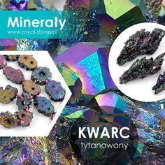 Dzieło natury czy wytwór człowieka? A może jedno i drugie? To akurat jest pewne: kwarc tytanowany (lub tytanowy), zwany także kwarcem aura, przyciąga uwagę nietypowym połączeniem surowości naturalnych brył kryształu z metalicznym połyskiem jego powierzchni. Jaka jest jego tajemnica? Chocolate, Crystals, Stone, Blog, Magick, Rock, Chocolates, Crystal, Rocks