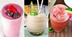 These 10 easy smoothie recipes call for 3 ingredients, tops, making them the simplest, healthiest breakfasts and snacks out there.